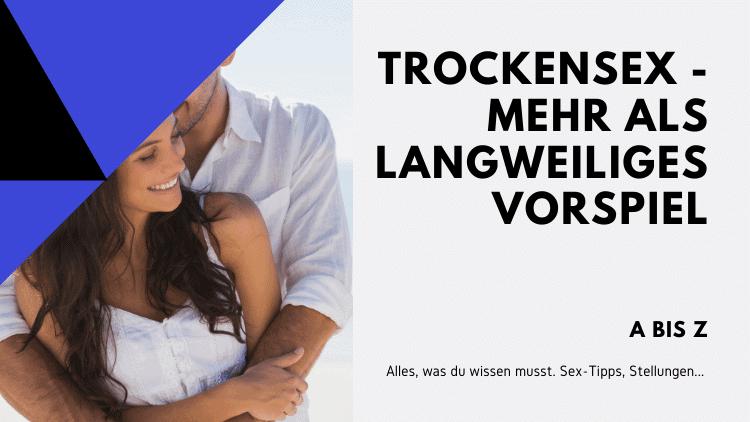 Trockensex